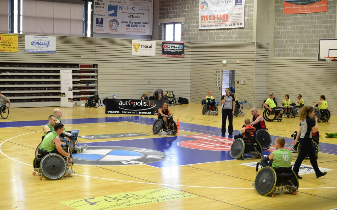 Wheelchair Rugby 16